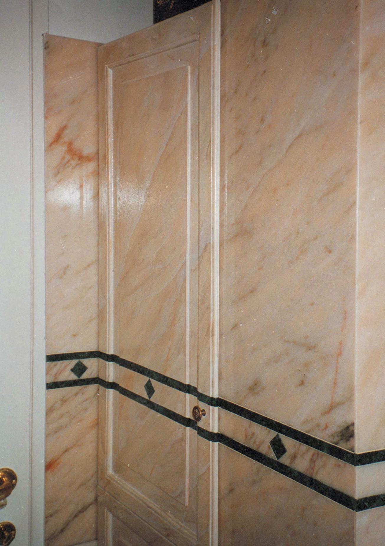 Il finto marmo francesca bruni - Greca per bagno ...